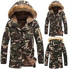 <b>Mens Overcoat</b>,<b>Men</b> Camouflage <b>Coat Thickening Cotton</b>-<b>Jacket</b> ...