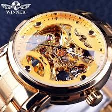 <b>WINNER</b> WU8012 Luxury Sport Watches <b>Men</b> Automatic Skeleton ...