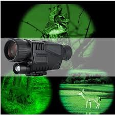 Hunting Night Vision <b>Telescope 5 x 40</b> Infrared Military Tactical ...