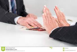 w hands rejecting an offer of money stock photo image  w hands rejecting an offer of money