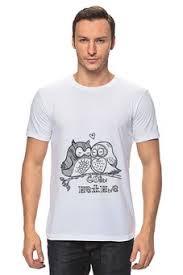 """Мужские футболки c эксклюзивными принтами """"<b>птицы</b>"""" - <b>Printio</b>"""