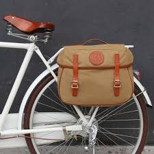 <b>Tourbon Retro Bicycle Pannier</b> Bag Rear Rack Trunk Bike Backseat ...