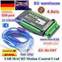 USB port <b>Mach3</b> software breakout board