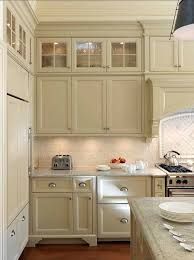 popular colors kitchens cream need glass doors at very top because thats the only place i have to di