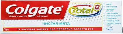 Колгейт 75мл <b>Зубная паста</b> - Тотал 12 - Чистая мята 1/48 Арт.6144