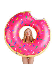 <b>Круг надувной Strawberry</b> Donut <b>BigMouth</b> 5013056 в интернет ...