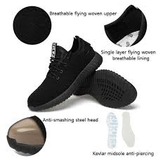 Online Shop New exhibition men Fashion <b>Safety</b> Shoes Breathable ...