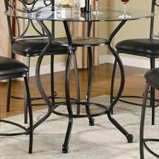 dining room table top metal steel wrought iron black wrought iron table