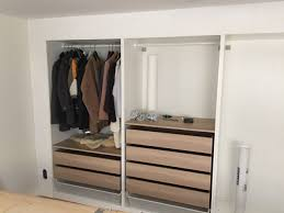 ikea fitted bedroom furniture. ikea hack builtin wall of wardrobesthey even put plaster ikea fitted bedroom furniture e