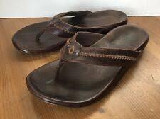 <b>Leather Flip</b>-<b>Flops Sandals</b> for <b>Men</b> for sale | eBay