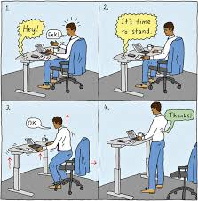 credit peter arkle bekant desk sit stand screen
