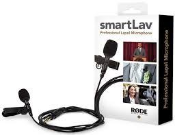 <b>Микрофон петличный</b> для iPhone, iPad <b>Rode</b> Smartlav+