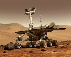 what is mars nasa an artist s drawing of one of s mars rover on the surface