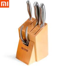 <b>Набор</b> кухонных <b>ножей Xiaomi Huo Hou</b> из нержавеющей стали...
