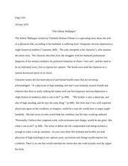 yellow wallpaper draft azmina ziwa englprofessor dybala pages the yellow wall paper