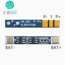 <b>3pcs 1S 3.7V</b> Lithium Battery Protection Board Polymer Over Charge ...