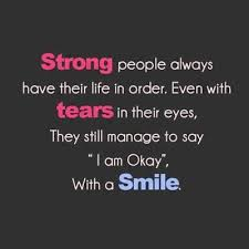 Strong people inspirational quote Short Inspirational Quotes About ... via Relatably.com