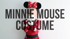No Sew <b>Minnie Mouse</b> Homemade Halloween <b>Costume</b> for Kids ...