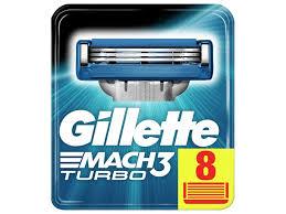 Аксессуар Сменные кассеты Gillette Mach3 Turbo 8 шт 80226354 ...
