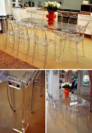 clear perspex dining table acrylic perspex furniture