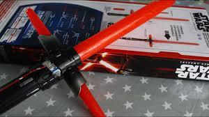 Star Wars - The Force Awakens - Kylo Ren Deluxe Electronic ...