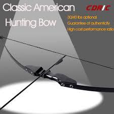 Professional <b>30</b>/<b>40lbs Recurve Bow</b> Wooden <b>Archery</b> Bow Outdoor ...