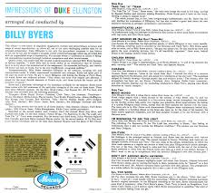 audio preservation fund tom fine scans billy byers impressions of duke ellington