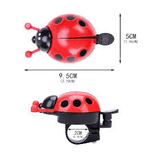 UK Cute <b>Kids Bike</b> Bell Bicycle <b>Boys Girls</b> Novelty Ladybird Bug ...