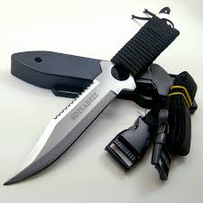 Fixed Blade Knife Hunting Stainless Steel <b>Tactical</b> Knives <b>Outdoor</b> ...