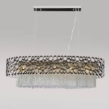 Подвесной <b>светильник Crystal Lux Fashion</b> SP5 L100 купить в ...