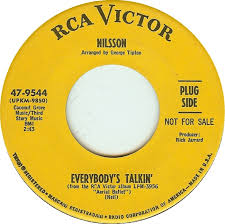 Image result for everybody's talkin nilsson 45
