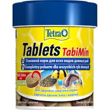 <b>Tetra Tablets TabiMin корм</b> в виде таблеток для всех видов ...