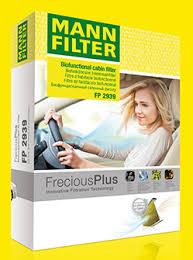 <b>MANN</b>-FILTER представляет новый <b>салонный фильтр</b> FreciousPlus