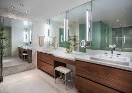 bathroom lighting ideas double vanity bathroom contemporary with white quartz wall mirrors bathroom lighting ideas double