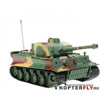 <b>Радиоуправляемый танк Heng</b> Long 1/26 Tiger I ИК-версия, ИК ...