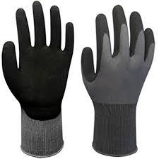 ESHOO Waterproof Resistance Work Gloves Nitrile <b>Gardening</b> ...