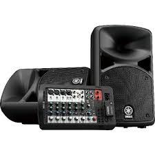 <b>Комплект профессиональной акустики Yamaha</b> STAGEPAS ...