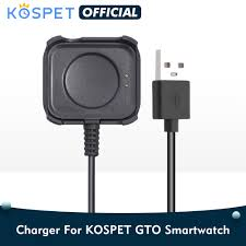 Original <b>KOSPET GTO Smart</b> Watch USB Charging Cable For ...