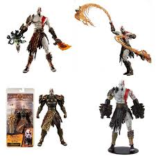 "Click to Buy << <b>Neca 7</b>"" <b>God of</b> War Kratos Action Figure PVC Doll ..."