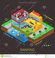 flat 3d isometric business office floors interior rooms concept vector royalty free stock photography business office floor