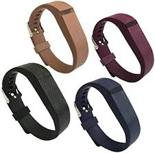 4PCS Fitbit Flex Band,<b>Silicone Replacement Wristband</b>