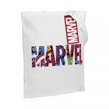 Холщовая <b>сумка Marvel Avengers</b>, белая | Многоформатная ...