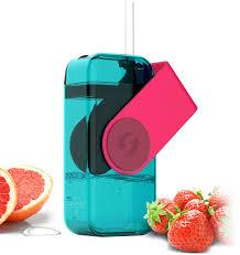 "<b>Бутылка</b> Asobu ""<b>Juicy drink box</b>"", цвет: красный, 290 мл"