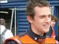 Stephen Jelley. Jelley will race at Leicestershire's Donington Park on 17 ... - _45600625_s7300160