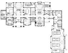 L Shaped House Plans   Smalltowndjs com    Lovely L Shaped House Plans   L Shaped House Plans With Garage
