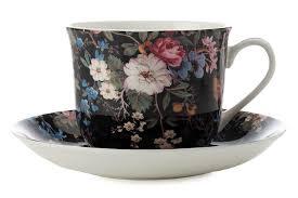 <b>Чайная пара Maxwell</b> and Williams Полночные цветы 480мл ...