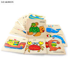 Online Shop <b>Baby</b> 3D Puzzle Jigsaw <b>Wooden Toys</b> Kids Early ...