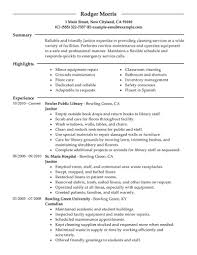 doc 12751650 janitor resume objective school custodian resume example resume janitorial position