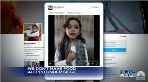 twitter account of 7 year old syrian girl with giant following disappears agency office literally disappears hours