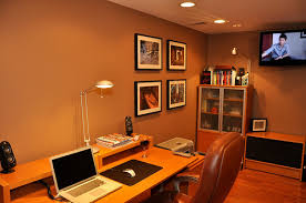 workers basement home office